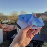 Origami Blue Whale | By Beth, aged 24