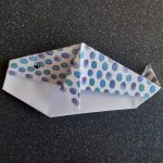 Origami Blue Whale | By Anonymous